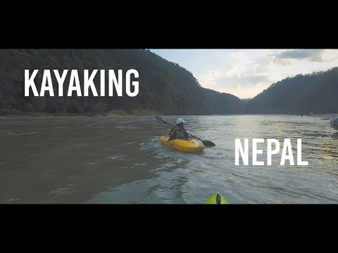 Kayaking trip in Nepal - An adventure thought the Sun Kosi River