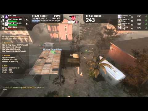 L4D2 EQ cup #3 nv- vs N0n`Stop (Part 2)