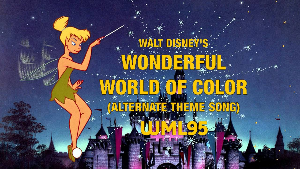 Walt Disney\'s Wonderful World of Color: Alternate Theme Song - YouTube