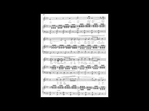 10 O del mio dolce ardor (from 24 Italian Songs) piano melody with accompaniment
