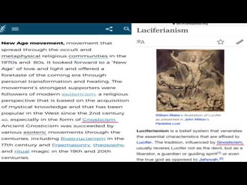 New age luciferian society means luciferian social order and mental health drugging Christians