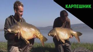 Ловля Карпа на озере Балатон в Центральной Европе 5 СЕРИЯ