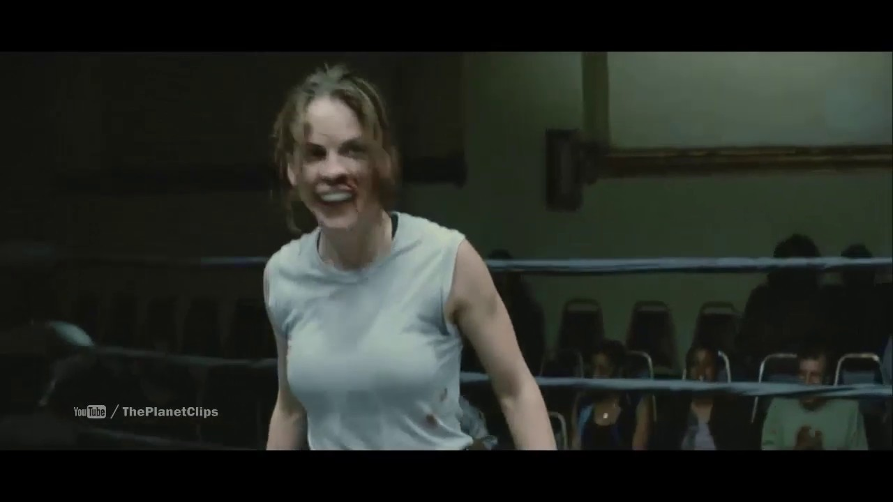 Maggie S Hilary Swank First Boxing Fight Million Dollar Baby 2004 Film Scene Youtube