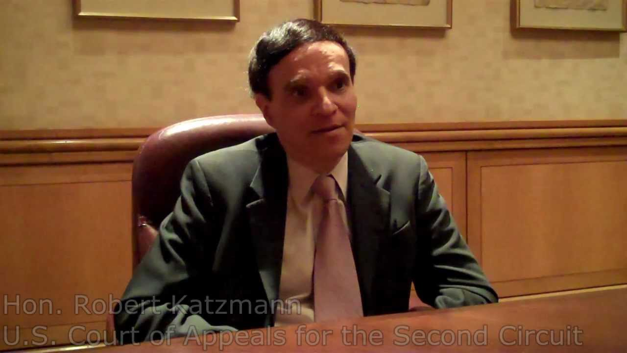 Why Do Pro Bono Hon Robert Katzmann Us Court Of Appeals For The 2nd Circuit Second Youtube