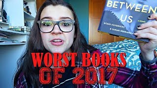 The Worst Books I Read in 2017