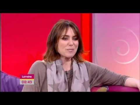 Keeley Hawes on Lorraine (27/04/12)