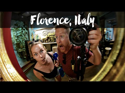 ART, CULTURE AND ICE CREAM SCAMS IN FLORENCE, ITALY