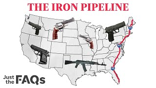 How guns are smuggled from state to state on the iron pipeline | Just the FAQs