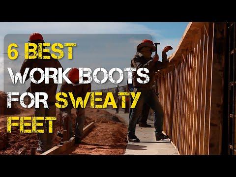 6 Best Work Boots for Sweaty Feet
