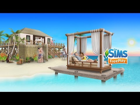 The Sims FreePlay Love and Treasure Update Trailer