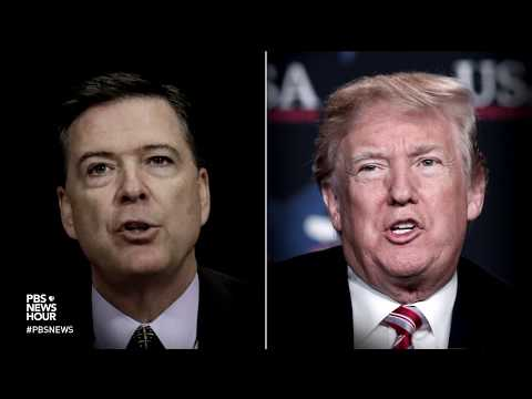 Trump fires back at Comey, fights to examine Cohen papers