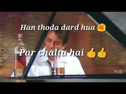 Apun jaise tapori ko kya malum pyaar kis chidiya ka naam hai whats app status video
