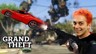 GTA VEHICLE CANNON MOD (Grand Theft Smosh)