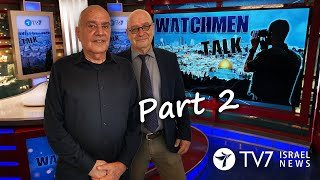 TV7 Israel: Watchmen Talk – Lt. Gen. (ret.) Dan Halutz, former IDF Chief of General Staff (Part II)