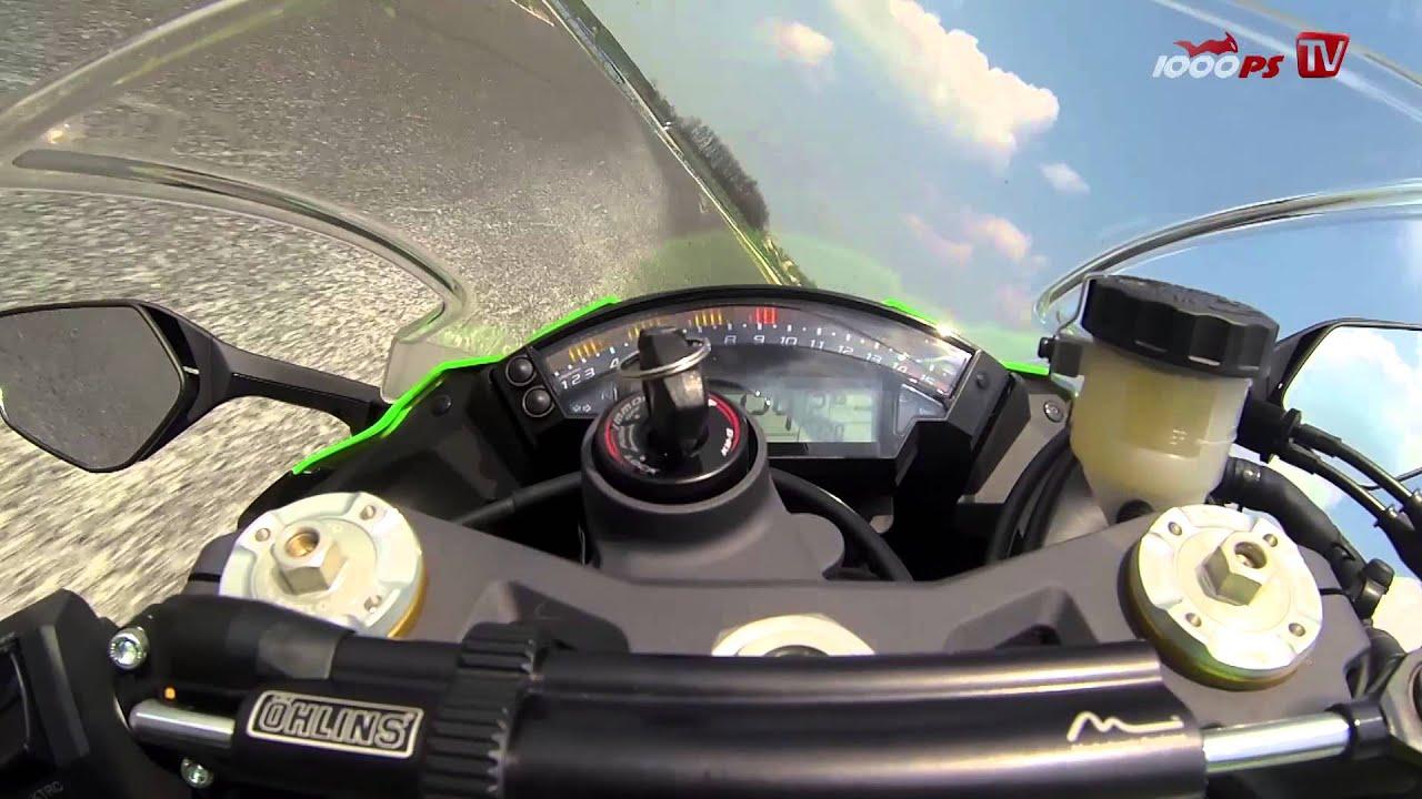Kawasaki ZX-10R Öhlins Onboard @ Pannoniaring