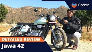 Jawa 42 Detailed Review : Design, Performance, Road Test