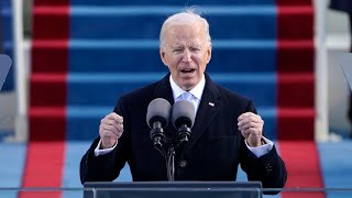 video: Inauguration Day 2021 news: Joe Biden rejoins Paris climate deal as he becomes 46th US President – live updates