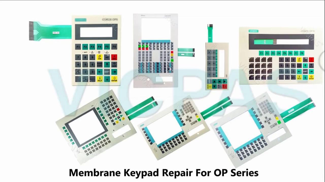 Siemens op3 membrana nuevo//membrana para 6av3503-1db10