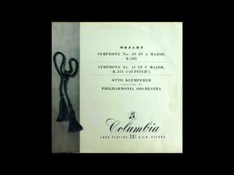 "Mozart Symphony No. 29 In A Major, K.201 / Symphony No. 41 In C Major, K. 551 (""Jupiter"")"