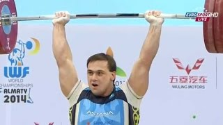 2014 World Weightlifting Championships, Men 105 kg  Тяжелая Атлетика. Чемпионат Мира(, 2014-11-15T16:56:37.000Z)