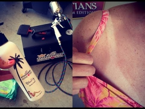 STAY TAN YEAR ROUND! SPRAY TAN DEMO!