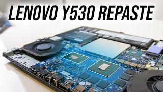Lenovo Y530 Repaste - Improved Temperatures?