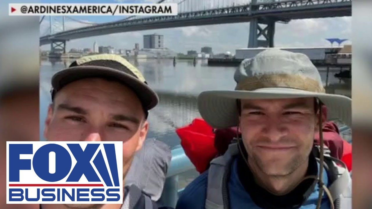 NJ brothers walk across America to support restaurant workers amid pandemic