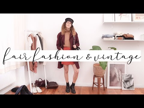 10 Herbst Outfits - Fair Fashion Lookbook 2019 | heylilahey