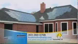 Repeat youtube video Academy Roofing DOW POWERHOUSE Solar Shingles