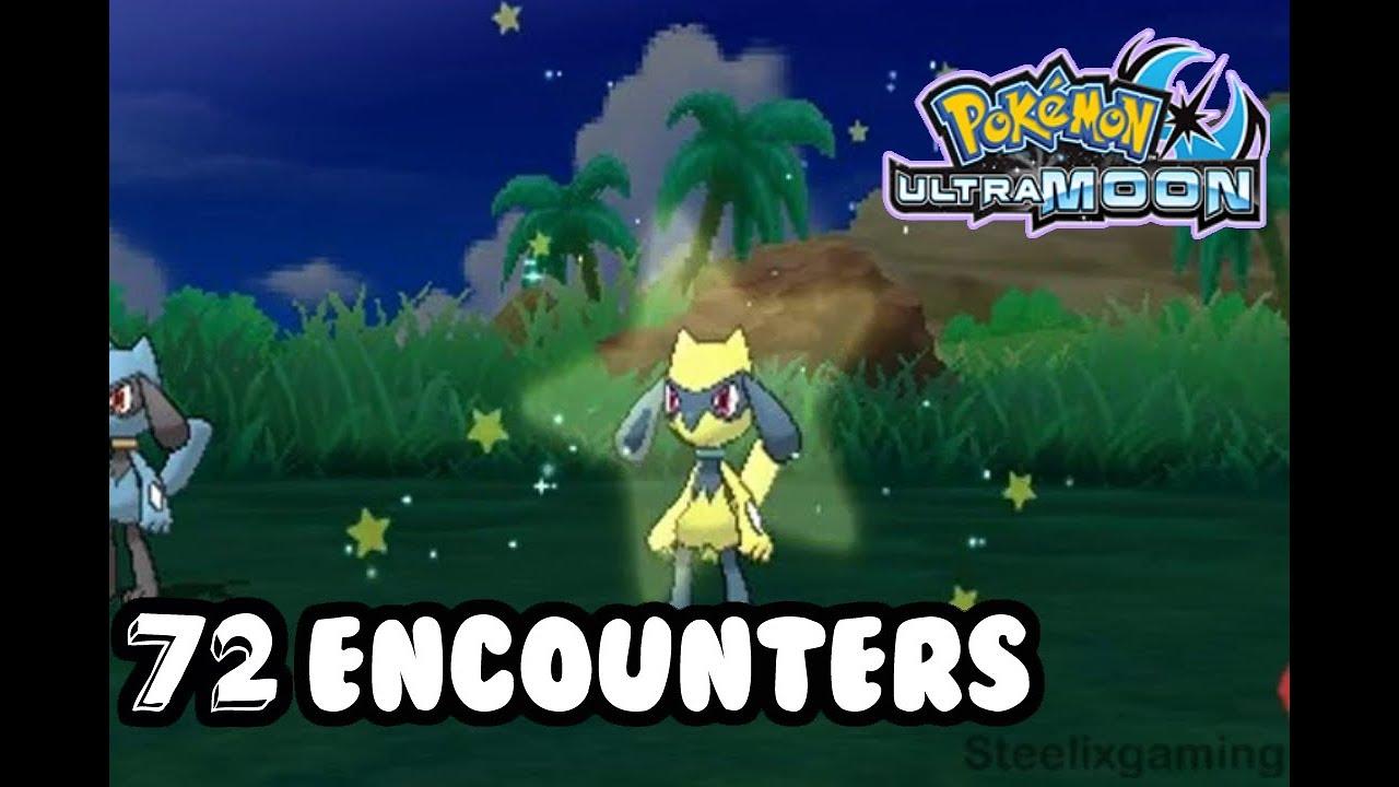 Live Shiny Riolu 8 Pokemon Ultra Sun And Ultra Moon Youtube