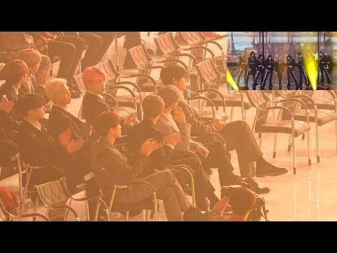 190424 BTS Reaction to TWICE (트와이스 무대보는 방탄소년단) 4K 직캠 by 비몽