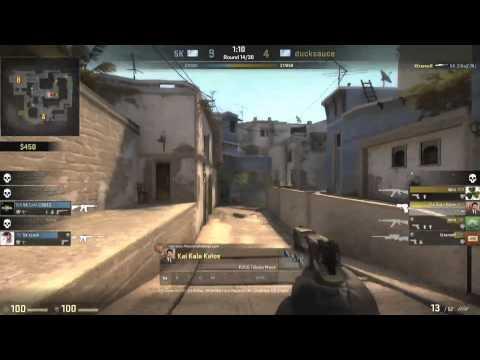 eGaming 2014 - CS:GO Finals - 5k VS ducksauce Game 1