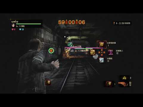 """Resident Evil Revelations 2 Level-Restricted Challenge No.477 coop 1'37""""50 Subway Iron Head"""