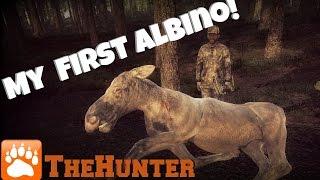 TheHunter - My First Albino! (Moose)