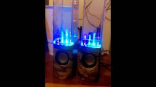 50K bass test on water speakers