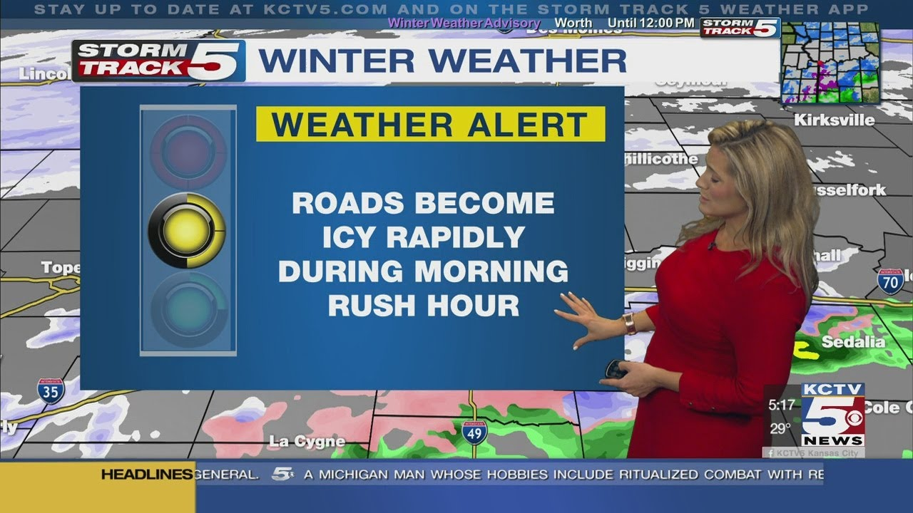First Alert: Rain, sleet and snow in the forecast