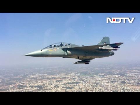 Exclusive Tejas Video on NDTV: Vishnu Som Flies On The Fighter Jet | Full Video
