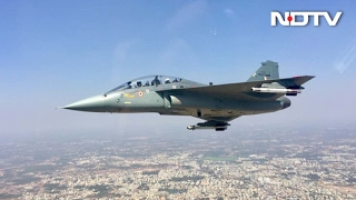 Exclusive Tejas Video on NDTV: Vishnu Som Flies On The Fighter Jet | Full Video