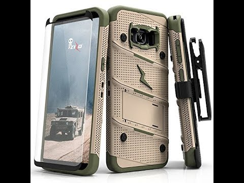 best loved 6677e 27ff2 Samsung Galaxy S8 Plus Case, Zizo Bolt Series review