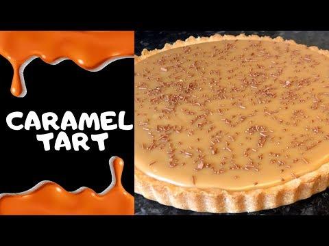 Old School Caramel Tart :) Traditional Recipe