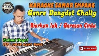Karaoke Biarkan lah (Goresan Cinta) - Samar Empang Bogor