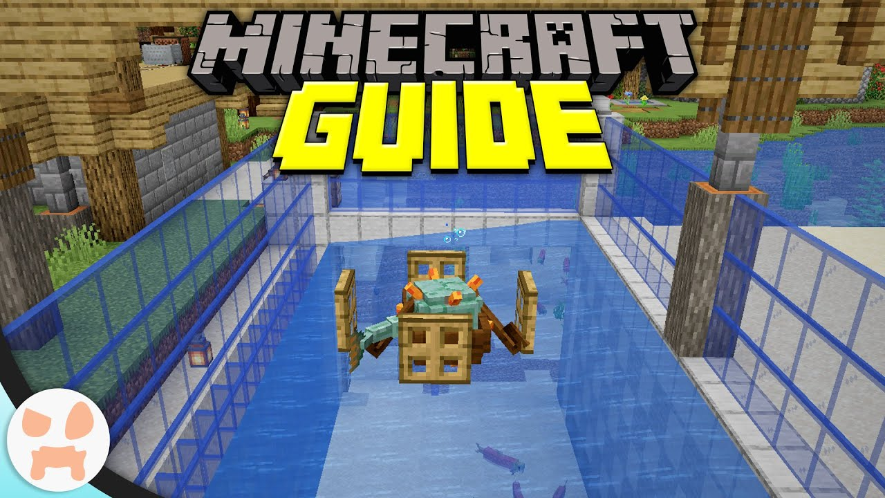 Easy Squid Farm Minecraft Guide Episode 55 Minecraft 1 15 2 Lets Play Youtube