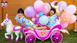 หนูยิ้มหนูแย้ม   เก็บลูกโป่งวันเกิด Happy Birthday Balloon