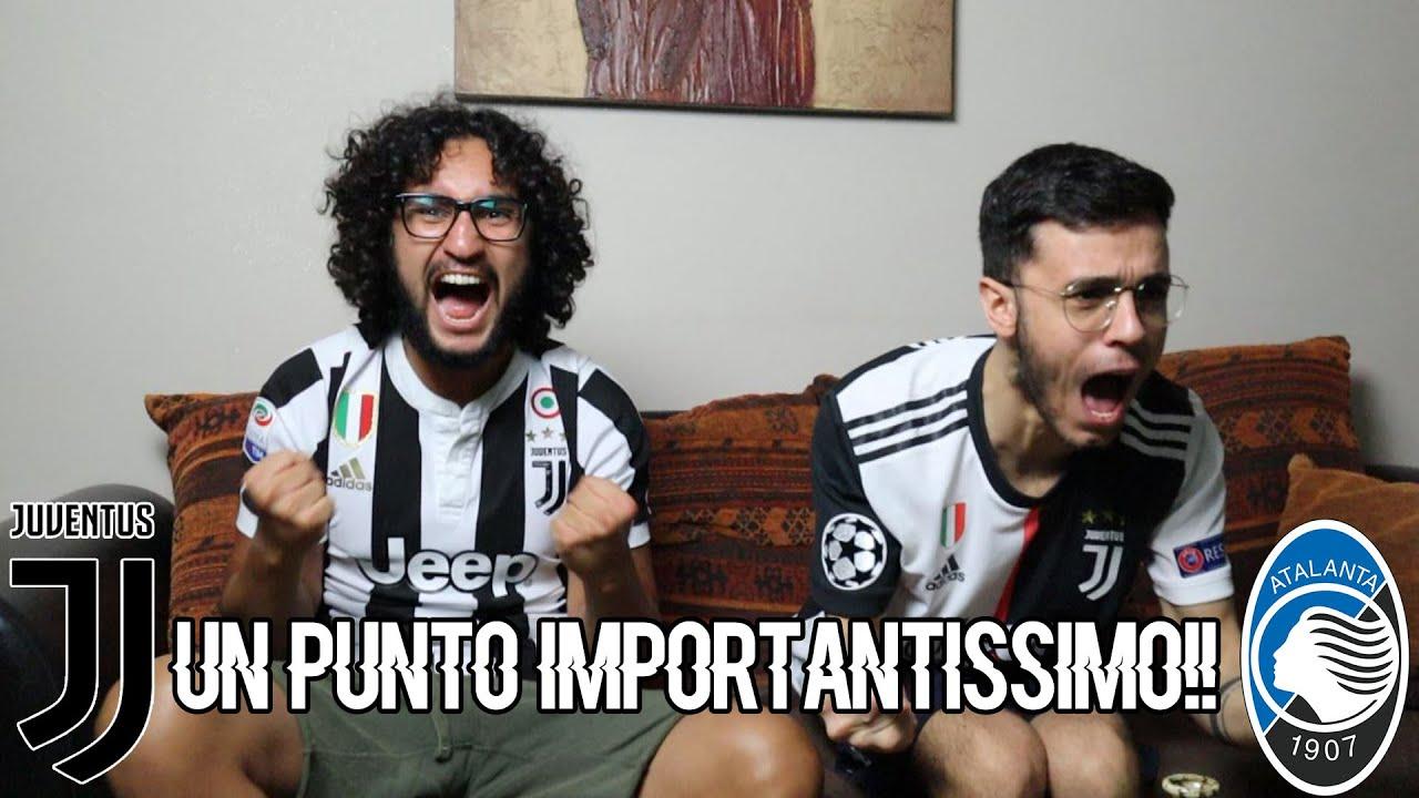 UN PUNTO IMPORTANTISSIMO!!!  | JUVENTUS 2-2 ATALANTA | LIVE REACTION TIFOSI JUVENTINI
