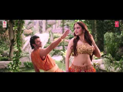 Pacha Bottesi Video Song    Baahubali Telugu   ...
