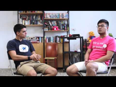 Being Gay and Living with HIV in Singapore: Avin Tan - Full Interview