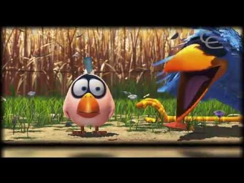 short film, For the Birds by disney pixar 3D animation