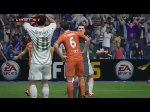 FIFA 16 PS4: Valencia Win La Liga At Santiago Bernabéu Stadium