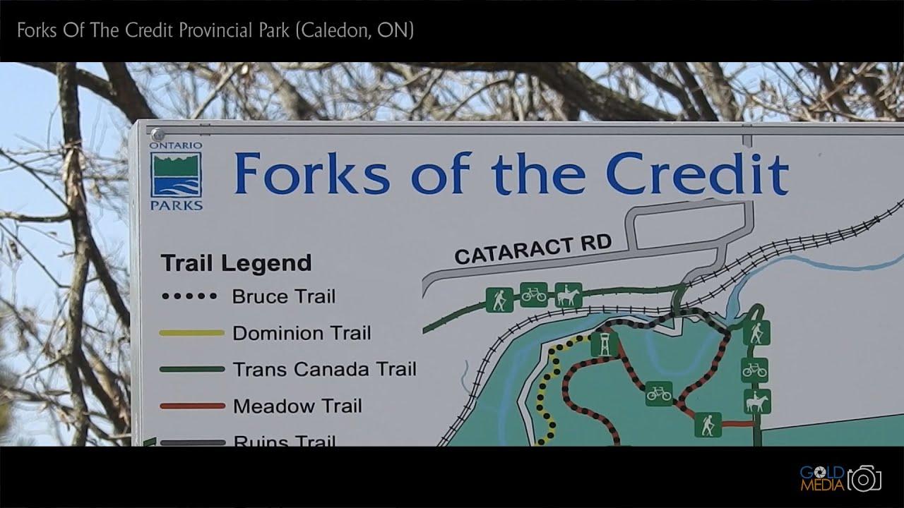 Forks of the credit trails