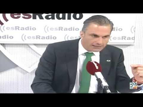 Javier Ortega Smith con Federico Jiménez Losantos en EsRadio 17 Sep 18